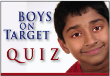 Boys On Target Quiz